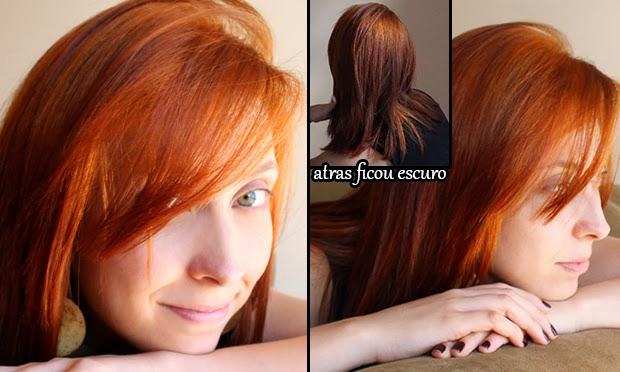Ruivo vermelho para laranja: Parte 2: Descoloração + Igora 7-77