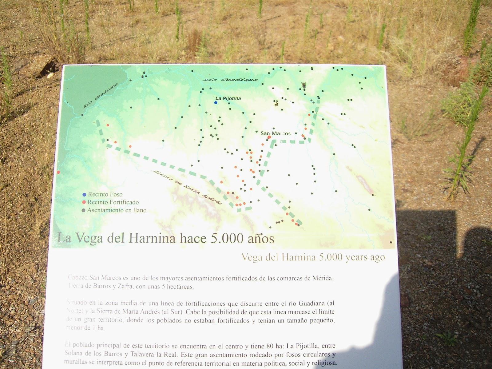 PEQUEÑA ARQUEOLOGÍA: Cabezo de San Marcos, en Almendralejo