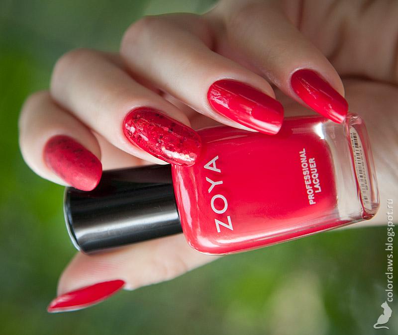 Zoya Red Door Red + Orly Rockets Red Glare