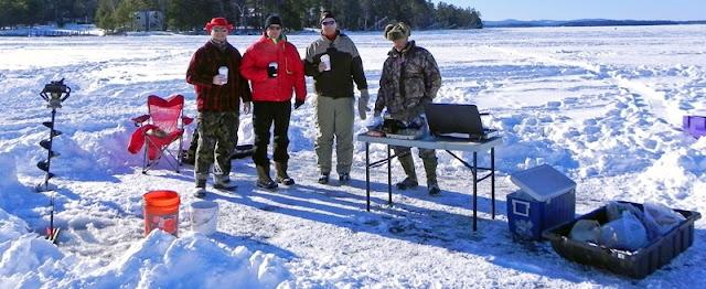 Actionshotsnh nh ice fishing derby lake winnipesaukee 2013 for Ice fishing nh