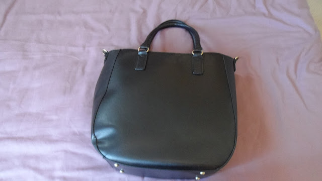Primark large black tote bag
