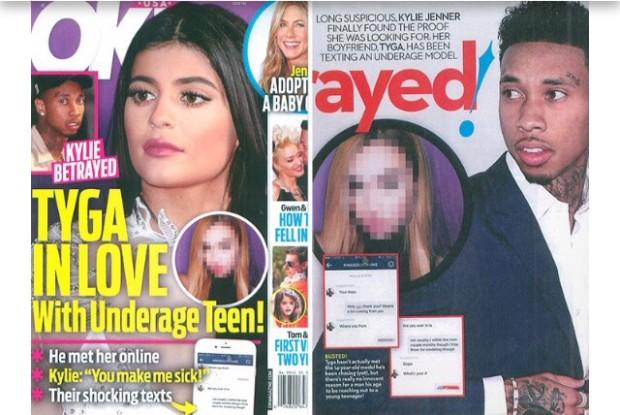 Garota de 14 anos revela que o Tyga tentou ficar com ela