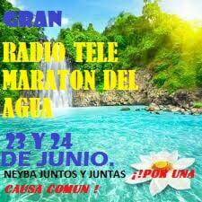 Maraton del Agua en Neiba