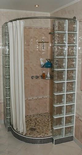 Galbobain l 39 l gance dans la salle de bain janvier 2015 for Rideau de douche rond