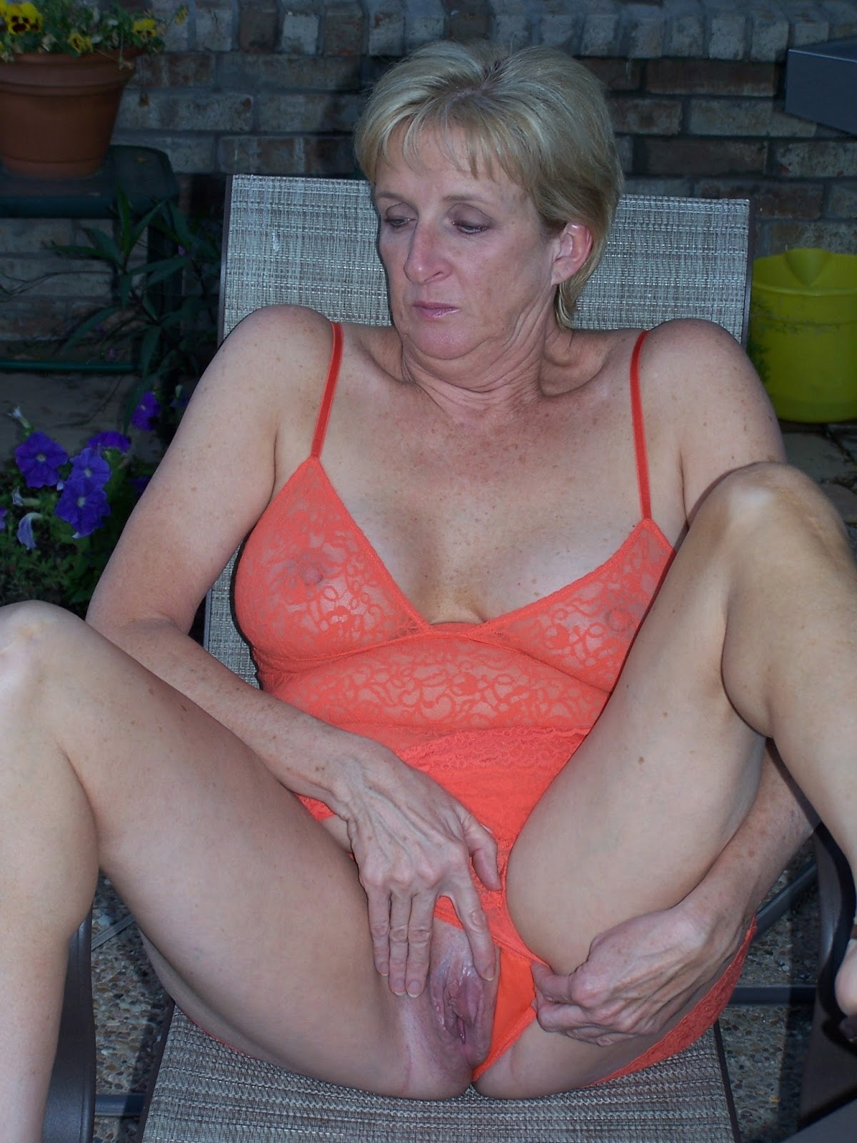 This amateur wife granny videos her