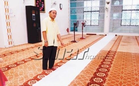 Pesara Guru Meninggal Dunia Ketika Sujud Solat Maghrib Berjemaah