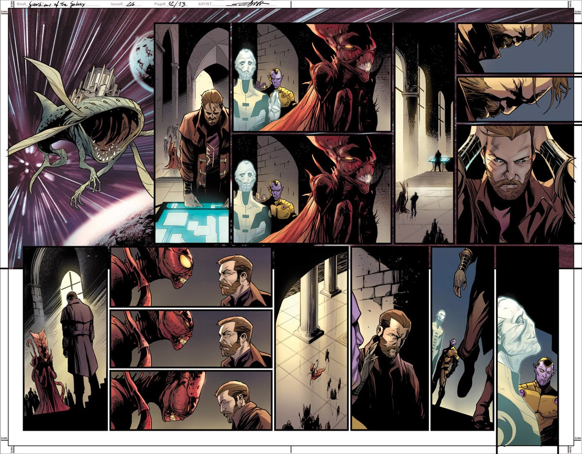 Deals and debts are clarified in Guardians of the Galaxy #24