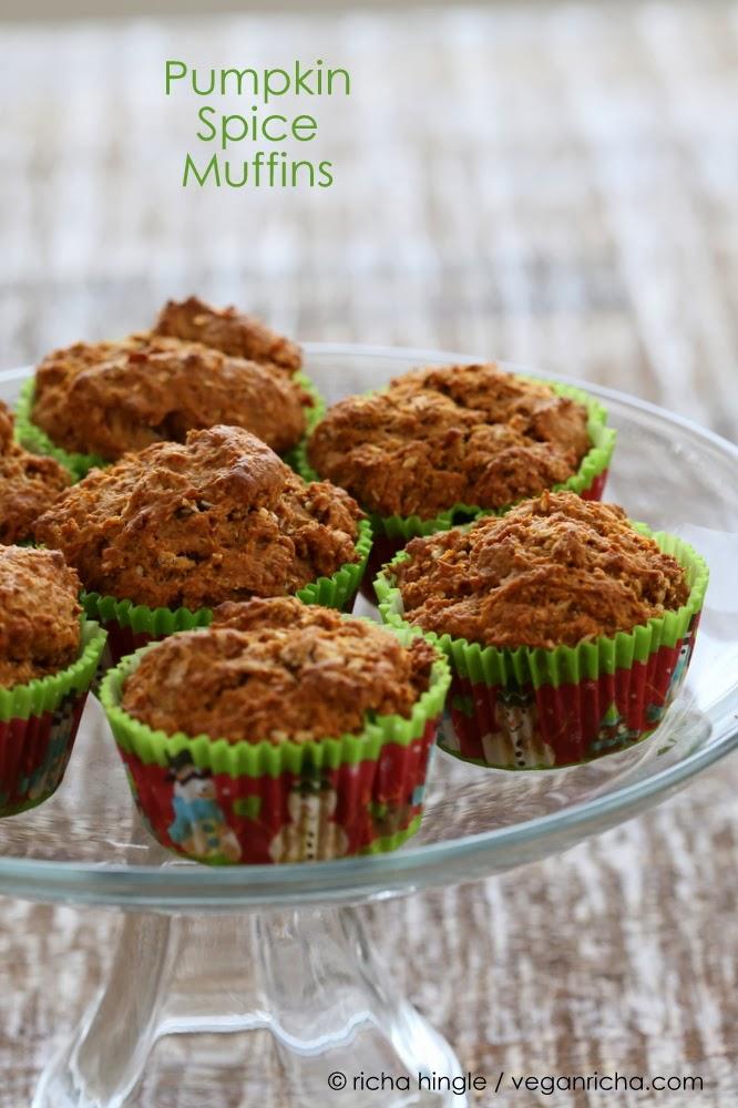 Spiced Coconut Pumpkin Muffins. Vegan Recipe - Vegan Richa