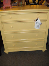 Yellow Riverside Four Drawer Chest