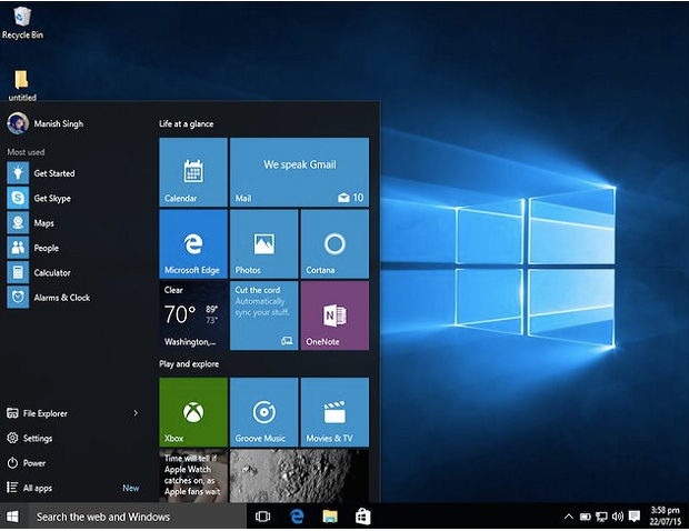 variasi versi windows 10