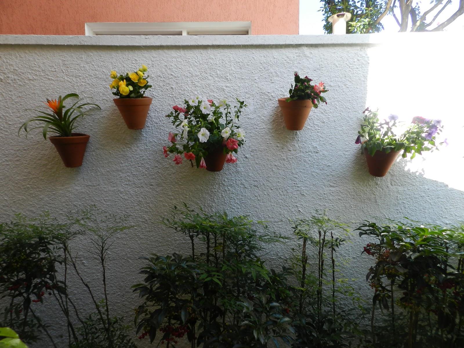 meu quintal meu jardim : meu quintal meu jardim: mais . No seu lugar um cantinho para Jardim vertical e ficou assim