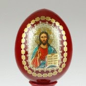 Russian Icon Egg