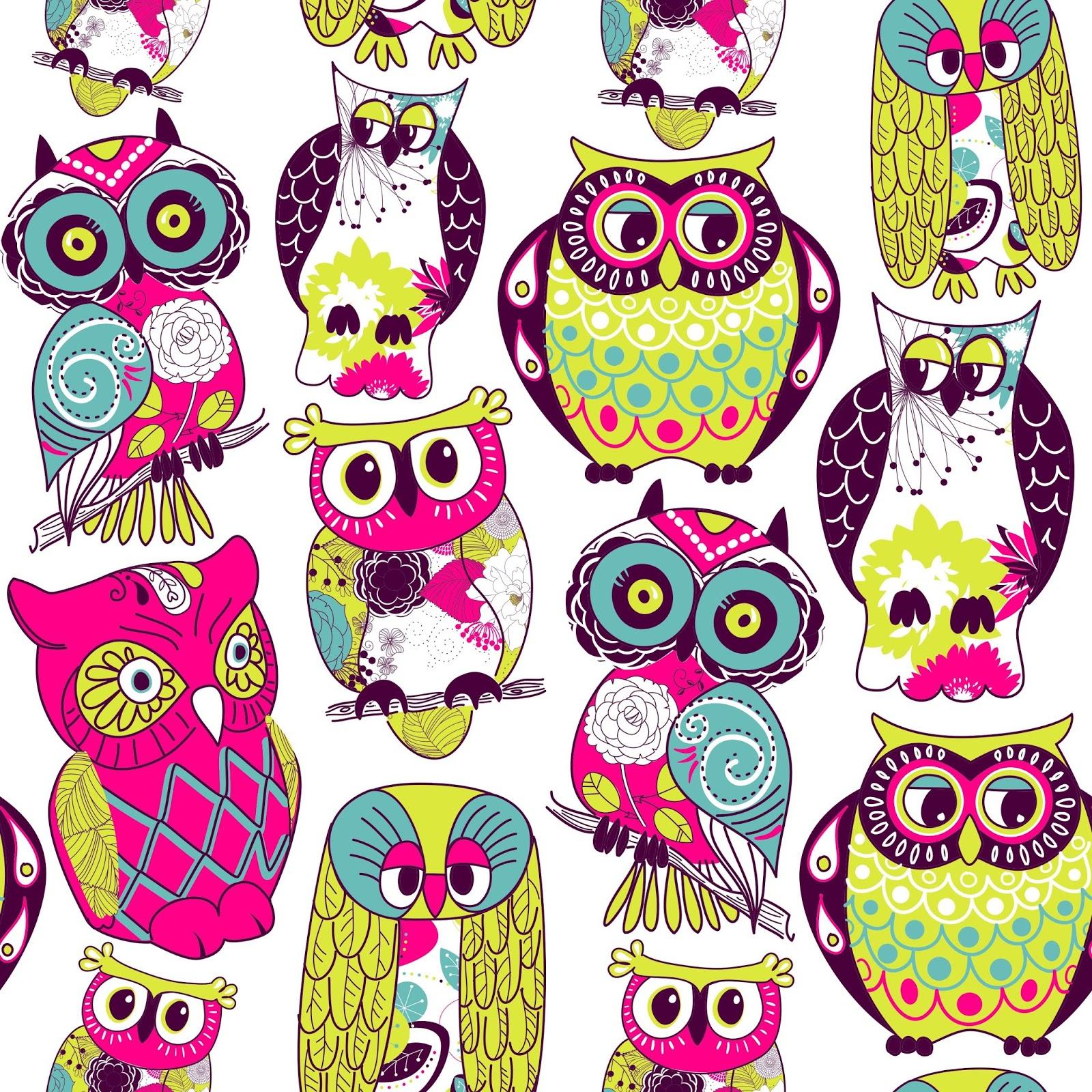 Eamless Owl Pattern GyUqAKud