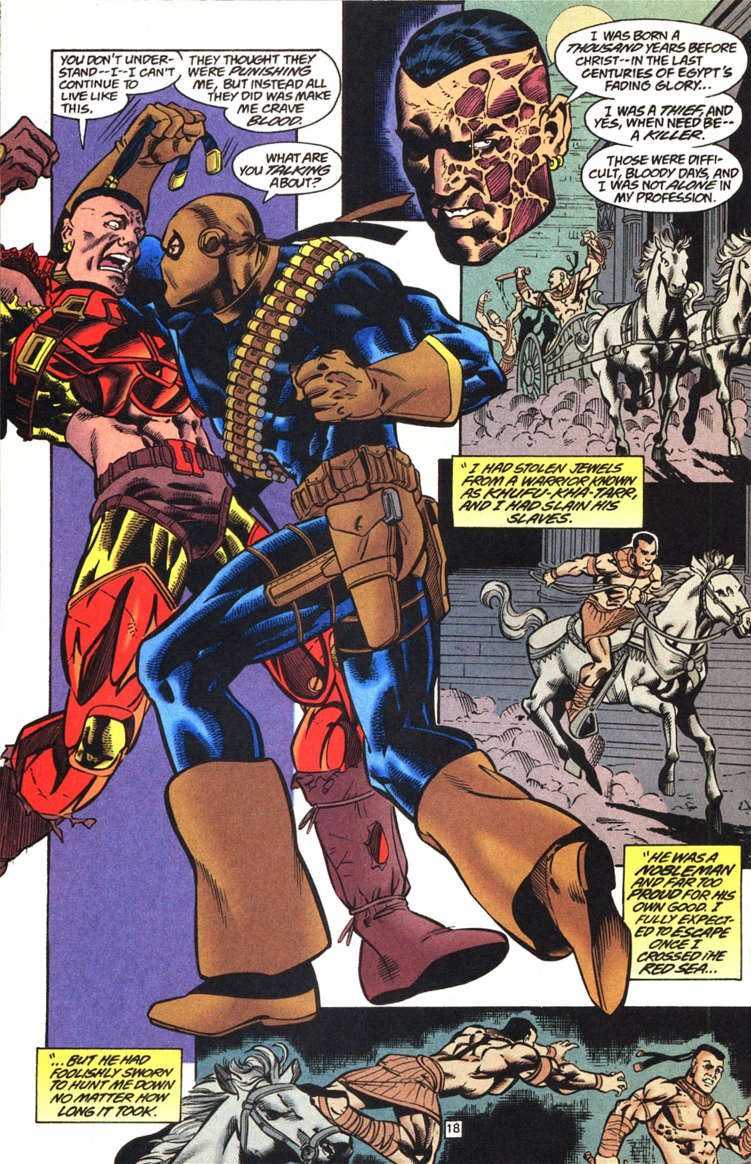 Deathstroke (1991) Issue #52 #57 - English 19