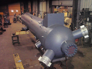 Completed Feedwater Heater