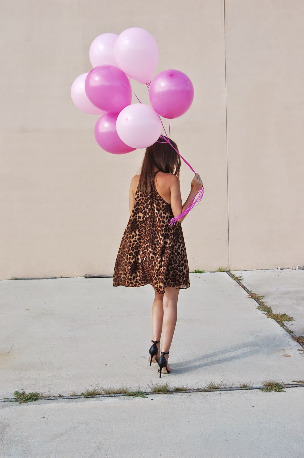 Blog Anniversary, ASTR High Neckline Leopard Shift Dress
