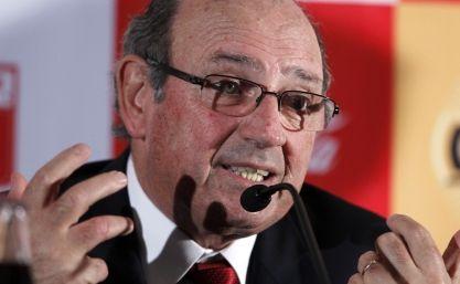 Sergio Markarián, seleccionador de Perú, mostró su indignación al