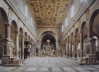 Interior de la Basilica de Santa Maria in Aracoeli
