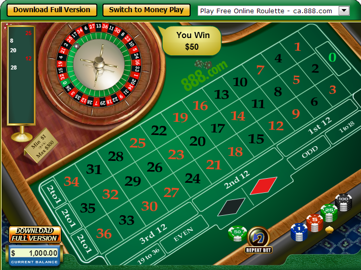 virtual roulette download