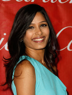 Freido Pinto Hairstyles - Female celebrity hairstyle ideas