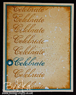 Sale-a-Bration 2013 Celebration Card by Stampin' Up! Demonstrator Bekka Prideaux - contact her to find out how to get this stamp set for FREE!