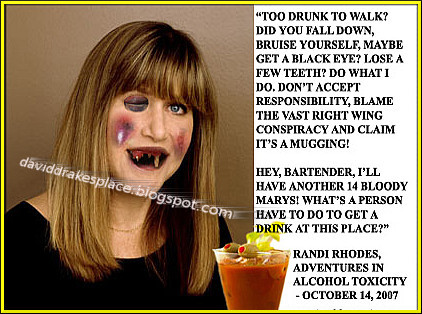 Randi Rhodes, Adventure in Alcohol Toxicity