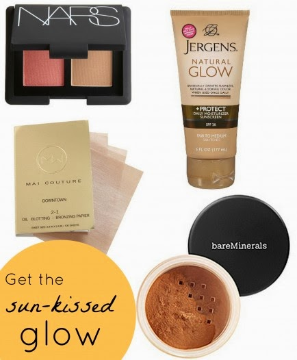 bronzers and self-tanner