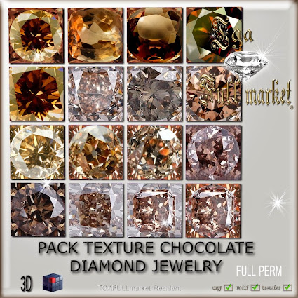 TEXTURE CHOCOLATE DIAMOND JEWELRY