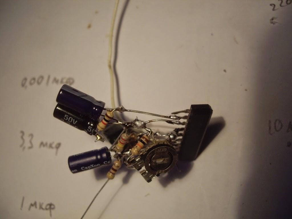 ta7343ap схема стереодекодера
