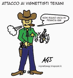 Vignette maometto, texas, terrorismo, satira