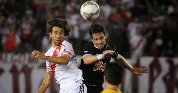 Ponzio, Leonardo, River, River Plate, Libertad, Paraguay, Argentina, Copa Sudamericana, Sudamericana, 2014,
