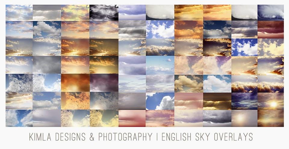 English Sky Overlays
