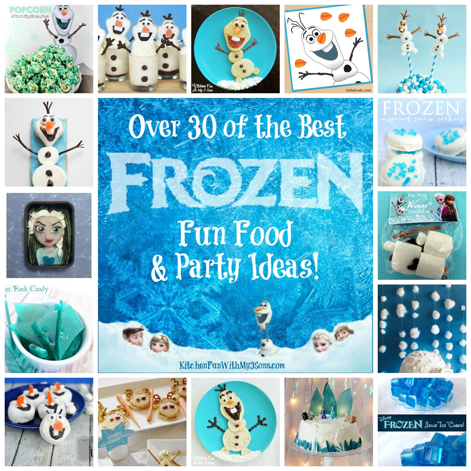 Best Frozen Party Food Frozen Fun Food Party