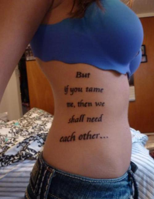 Good Tattoo Quotes Gorgeous Creative Tattoos Good Tattoo Quotes