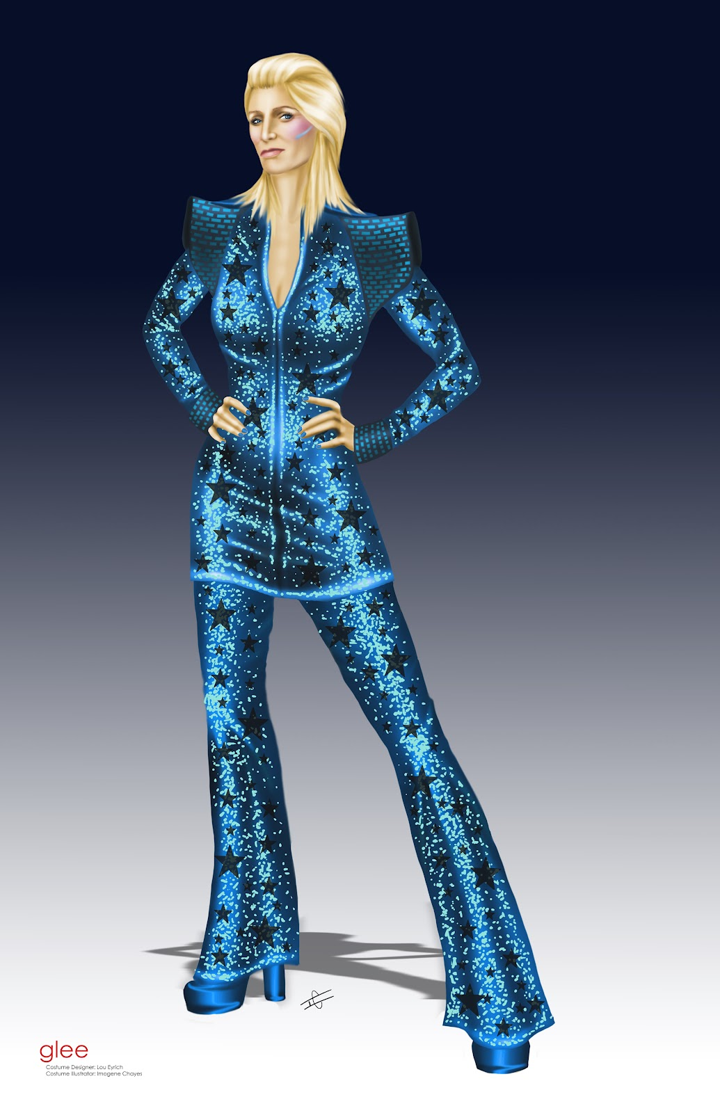 Ziggy Stardust Costume Illustratrix: The Art ...