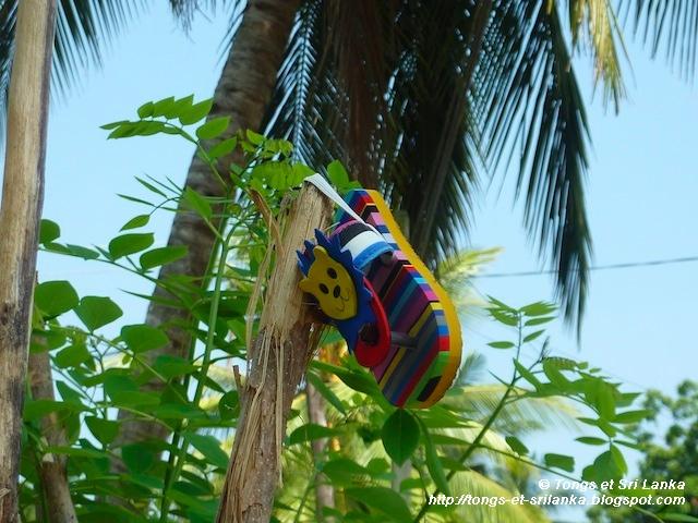 chaussures d'enfant au Sri Lanka