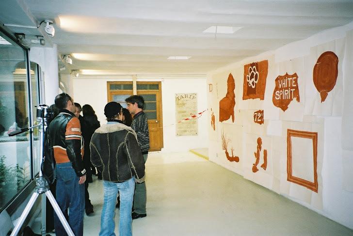 Février 2004, Exposition de la première heure aux Bains-Douche de la Plaine Marseille
