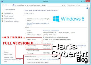 Cara Menjadikan Windows 8 Pro Genuine/Full Version (How To Patch ...