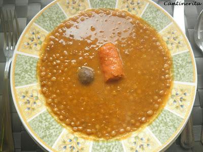 El Blog De Cantinerita Lentejas Con Chorizo Y Delicias Morcilla