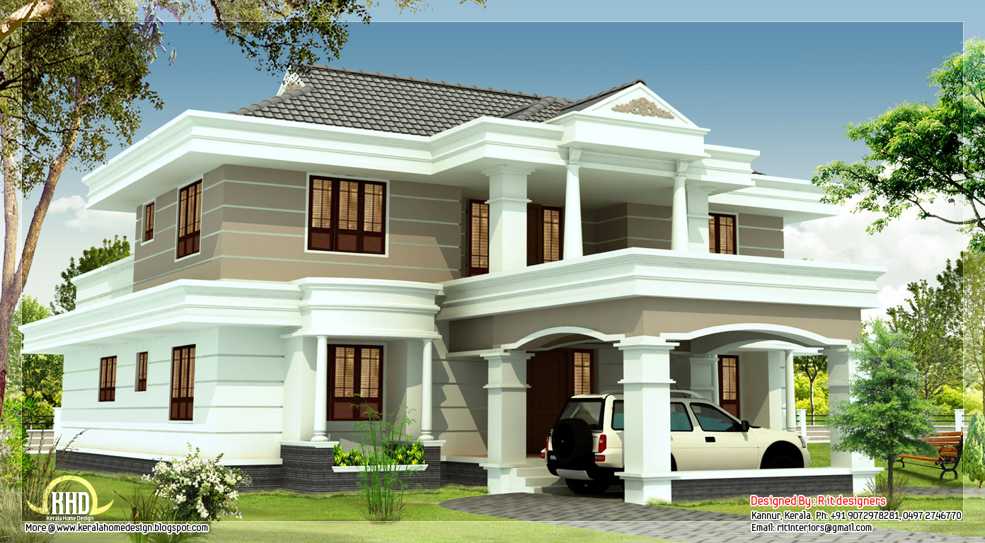 Beautiful beautiful houses for Attractive home designs