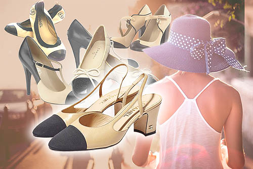 Sepatu Chanel Wanita