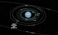 Discovered a new moon of Neptune