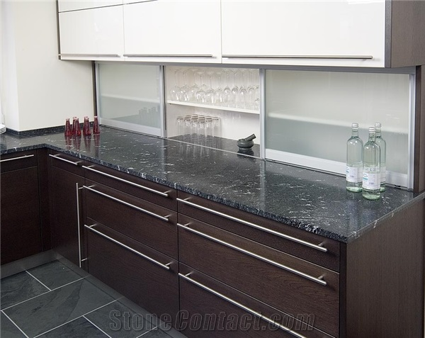 Kitchen Black Granite Countertops : Foundation dezin decor granite kitchen beauty grace