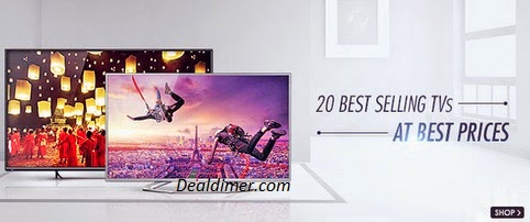 Best Selling TVs @ upto 50% off