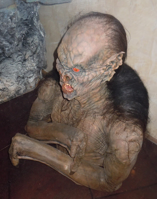 Gary Oldman Dracula creature prosthetics