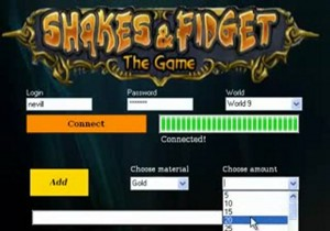 shakes and fidget cheat download
