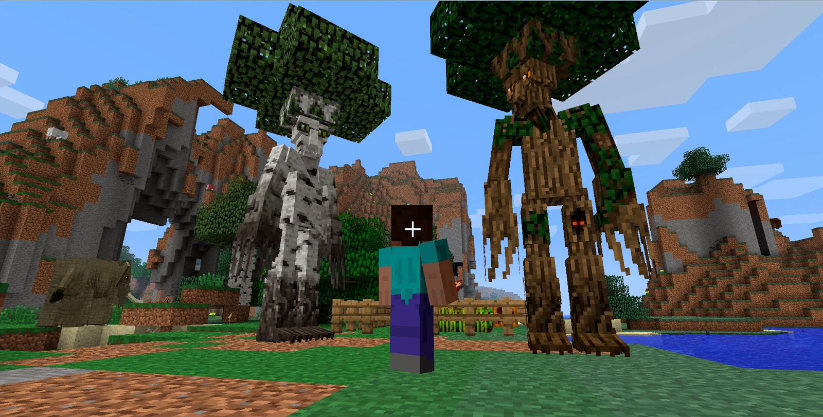 Mo' Creatures Ents Minecraft mod