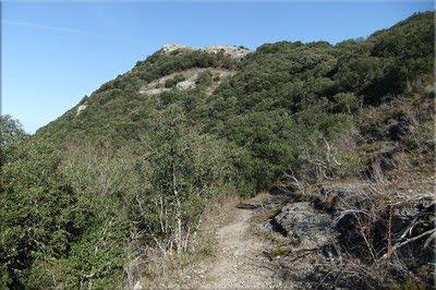 Farallones  rocosos de la cima de Amaritu