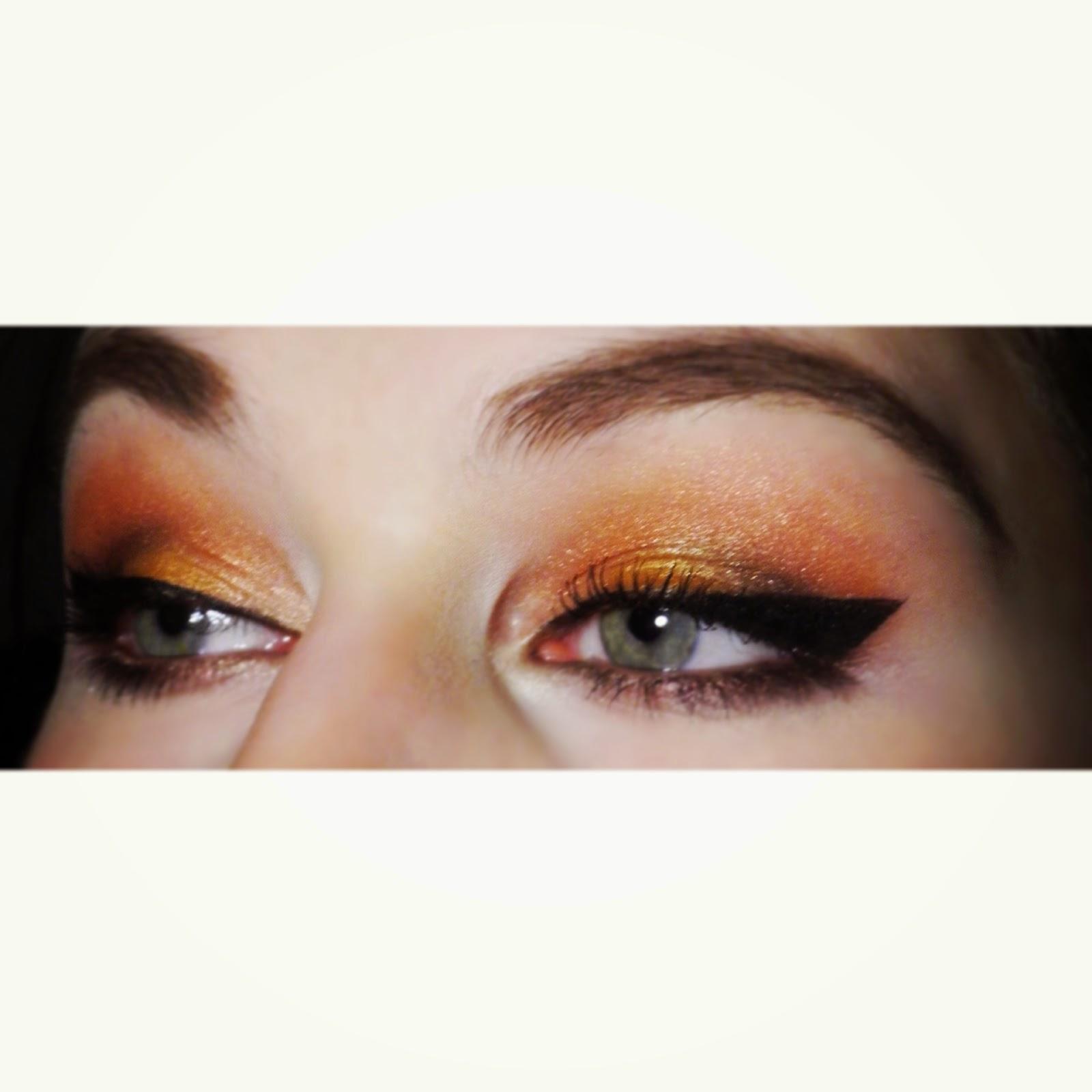 Maquillage yeux palette Sunset Sleek