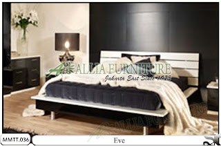Tempat tidur model modern minimalis eve